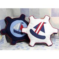 Patchwork Personalized Fashion Gifts Cotton Navy / White Embroidered Patchwork Rudder Manufactures