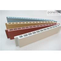 No Light Pollution Terracotta Facade Panels Multi Color With 30mm Thickness Manufactures