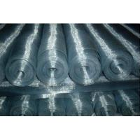 Plain Steel Galvanized Square Wire Mesh Window Screen Mesh Corrosion Resistance Manufactures