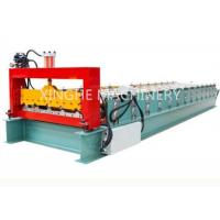 Quality PLC Automatic Zinc Roofing Double Layer Roll Forming Machine / Roof Panel Forming Machine for sale