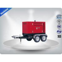 Movable Three Phase Trailer Mounted Generator Electronic Starting 200-500Kw 600Kva Manufactures
