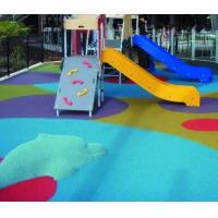 Kindergarten Epdm Rubber Flooring , Non Slip Thick Rubber Flooring Material Manufactures