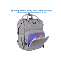 Multi Function Waterproof Usb Charge UV Sterilizer Diaper Bag Manufactures
