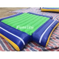 22mLx20mW Giant Inflatable Aqua Park Water Sports Equipment 80 People Used  For Seashore Games