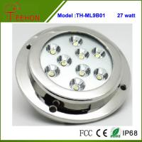 "Newest 5"" 27W LED pontoon Boat Marine Underwater Light Surface/Transom Mount Manufactures"