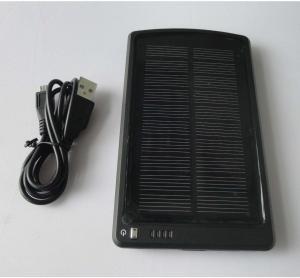 5V 3Ah Portable iPhone/ PSP solar Powered backup Manufactures