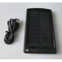 5V 3Ah Portable iPhone/ PSP solar Powered backup Manufactures