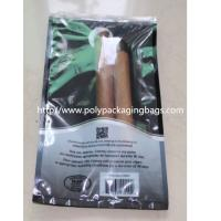 BOPP / LDPE laminated Moisturizing 10 Cigar Humidor Bags for Travel Manufactures