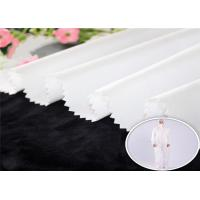 China 100%P Breathable PE Membrane Bonding Non-woven Fabric Waterproof For Corona Medical Protective Clothing on sale