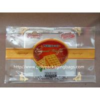 Quality Customized Food Packaging Clear Plastic Ziplock Bags for Cookies / Dry Fish for sale