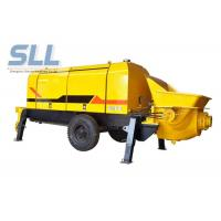 Diesel Engine Compact Concrete Pump , Construction Concrete Pump Color Chargeable Manufactures