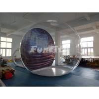 Inflatable Christmas Advertising Inflatable Bubble Tent 1.0mm PVC And 0.9mm PVC Tarpaulin Manufactures