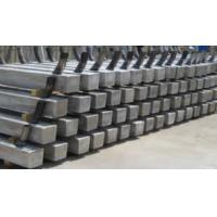 Al-Zn-In Alloy Anodes For Pilling / Piers / Offshore Platform Manufactures
