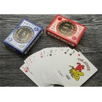 German Casino Playing Cards Offset Printing 310gsm Black Core Paper Manufactures