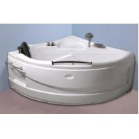 Contemporary Electric Corner Whirlpool Bathtub With Lights / Jets 110/220V Manufactures
