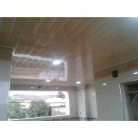Light Weight PVC Wood Panels , Interior Pvc Cladding For Office / Hospital Manufactures
