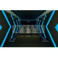 Mini 6persons mobile 5D cinema system with luxury motion chairs by Pneumatic / Hydraulic control Manufactures