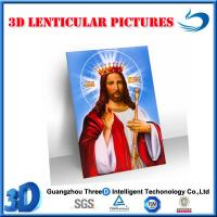 Quality 3d jesus 13D lenticular picture(stock) for sale