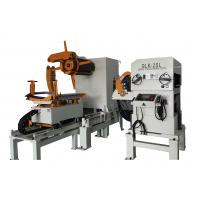 Sheet Metal Straightener Uncoiler Feeder With 0.5Mpa Pneumatic Pressure Manufactures