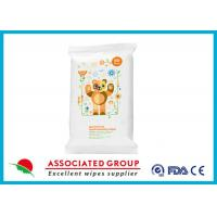 Fresh Antibacterial Hand Wipes Ultra Thick And Soft Healthy Biodegradable 20 Sheets Manufactures