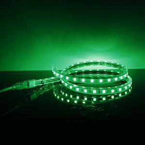 12V / 24V Single color & RGB 5050 SMD Led Strip Light 3 led cuttable for home Manufactures