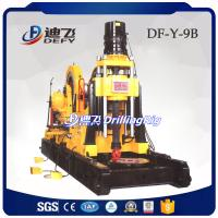DF-Y-9B 4200m portable diamond core drilling rigs for sampling with diesel engine, wire-line diamond rig for sale Manufactures