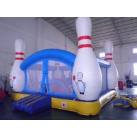Inflatable 4 in 1 Combo Jumping Castle Jump And Slide With Plastic Ball Pit Manufactures