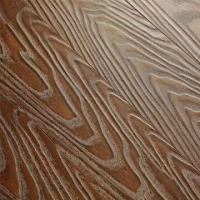 12.3mm Laminate Flooring, V-groove by Paint, with Deep-regsitered Embossed Surface Manufactures
