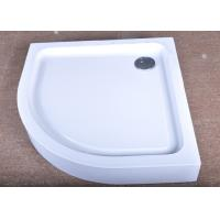 Quality Real Estate Property Bathroom Shower Trays Luxury Raised With 90MM Siphon for sale