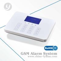 Touch Screen Keypad Smart Home GSM Security Alarm System With APP Manufactures