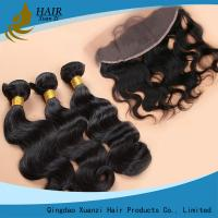 Buy cheap Real Thick Ladys Hair Extensions Body Wave Soft And Smooth Long Lasting from wholesalers