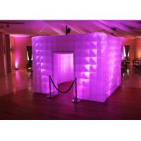Lighting Wedding Inflatable Photo Booth Enclosure Portable Props For Party Manufactures