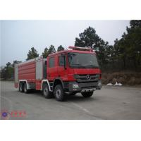 Quality Mercedes Chassis Fire Fighting Vehicles Monitor Flow 100L/S Overturning Type Cab for sale