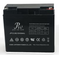 Battery SLA 12V20AH  Rechargeable UPS Solar Energy Storage Battery Black Manufactures