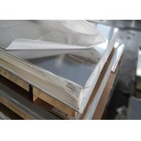 Quality Raw Materials Decorative Stainless Steel Sheet , Natural Color 304 Stainless Steel Plate for sale