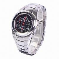 Quartz Watch with Stainless Steel Material Manufactures