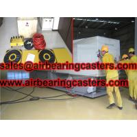 Air casters rigging systems features Manufactures