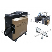 China Non Contact Air Cool 200W Laser Mold Cleaning Machine on sale
