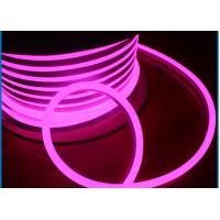 Led Pink Neon Tube Light, IP65 Waterproof SMD2835 LED Neon Rope Light Flex Tube Manufactures