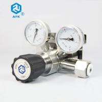 CO2 High Pressure Air Regulator With Gauge For High Purity Gas One Stage Manufactures