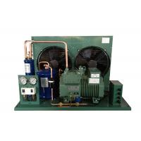 380V 5HP Bitzer Condensing Unit Long Lifespan 2 Fans Semi Hermetic Installed Conveniently Manufactures