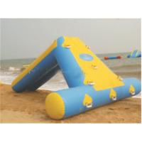 inflatable floating water park games  spongebob inflatable water slide for kids Manufactures