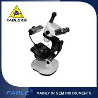 Ellipse base Generation 3rd  Swing arm type Gem Microscope F08 Trinocular lens Manufactures
