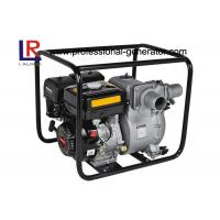 Small Portable Agricultural Water Pump 3 Inch Slurry Pump with 9 HP Gasoline Engine Manufactures