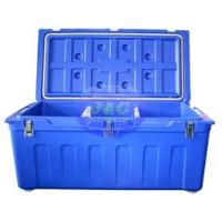 LLDPE Roto Molded Plastic Products Insulated Fishing Boxes Rotomolded Cooler Manufactures