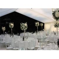 High Strength White Waterproof Wedding Event Tents Large A SHAPED Tent For 600 Seater Manufactures