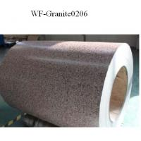 Marble Patterned Color Coated Steel Coil , Galvanized Steel Sheet In Coil Manufactures
