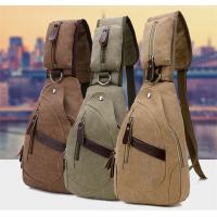 Summer Cross Body Single Strap Backpack Large Capacity With Cotton Canvas Manufactures