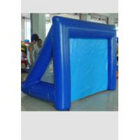 Durable blue PVC Outdoor Inflatable Projection Movie Screen for school Manufactures
