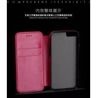 Quality Pink Iphone 6 Plus Leather Wallet Case , Book Cover Protective Magnetic Leather Case for sale